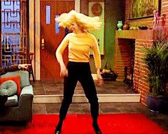 Kristen Wiig, celebrate, dance, excited, snl, yay, Kristen Wiig SNL GIFs