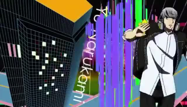 Watch and share Persona 4 Dancing All Night Opening GIFs on Gfycat