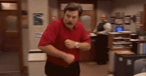 Watch Early GIF on Gfycat. Discover more nick offerman GIFs on Gfycat