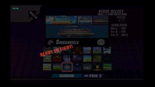 Project M - Princess Hyrule (Zelda) vs  Dolphin (Samus) GIF