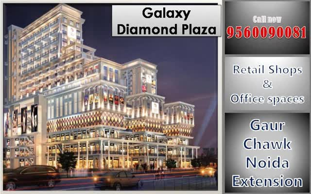 Watch and share Galaxy Diamond Plaza Greater Noida West Retails Shops On Best Price Call Now 9560090081 GIFs by fmpgnoida on Gfycat