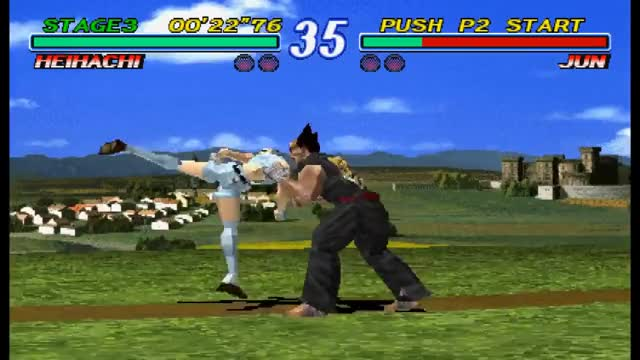 [TAS] PSX Tekken 2 - Heihachi Mishima 02'12'31