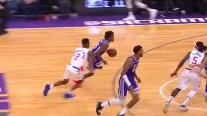 Watch De'Aaron Fox — Sacramento Kings GIF by Off-Hand (@off-hand) on Gfycat. Discover more 112918 GIFs on Gfycat