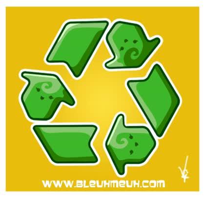 Watch and share Kawaii Recycle Animation By KawaiiUniverseStudio GIFs on Gfycat