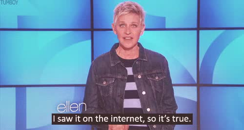 Watch and share Ellen Degeneres GIFs on Gfycat