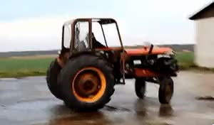 Watch and share Tractor Farm Doughnut Skid Circles GIFs on Gfycat