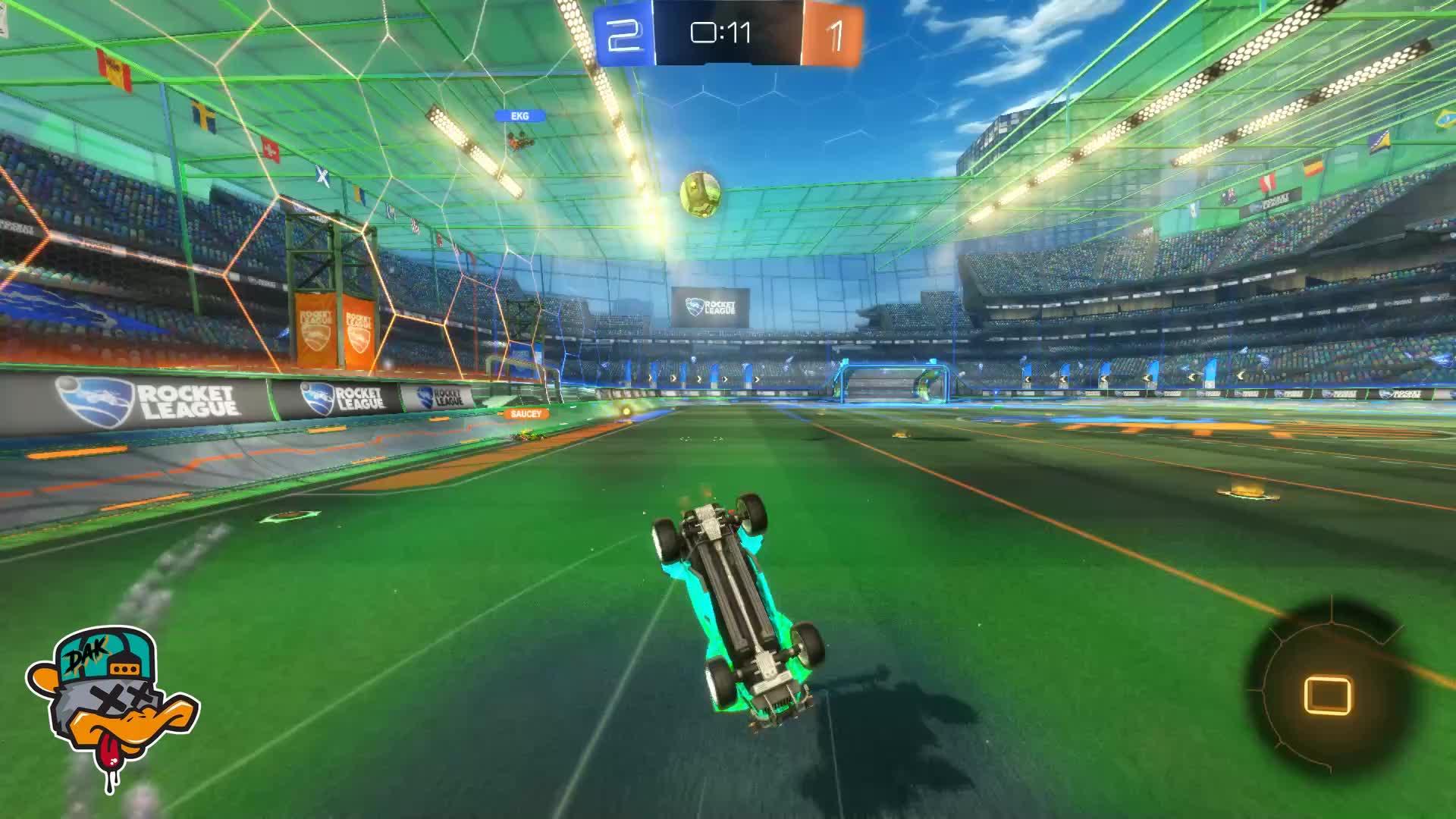 Gif Your Game, GifYourGame, Goal, Rocket League, RocketLeague, dak, Goal 4: dak GIFs