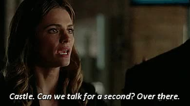 Watch and share Caskett Parallel GIFs and Character Flaws GIFs on Gfycat