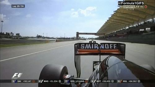 formula1gifs, Ricciardo passes Hulkenberg - Malaysia 2015. (reddit) GIFs