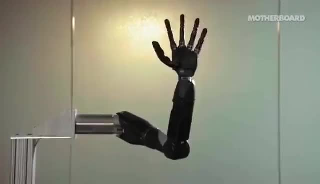 Watch and share The Mind-Controlled Bionic Arm With A Sense Of Touch GIFs on Gfycat