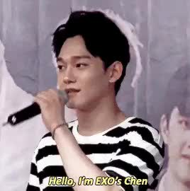 Watch and share Kim Jong Dae GIFs and Chen Gif GIFs on Gfycat