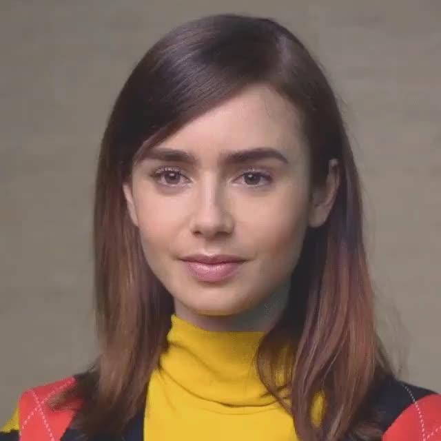Watch this lily collins GIF on Gfycat. Discover more lily collins, smile GIFs on Gfycat