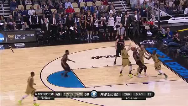 Watch and share Demetrius Jackson's Sick Handling Leads To Auguste Dunk (reddit) GIFs on Gfycat