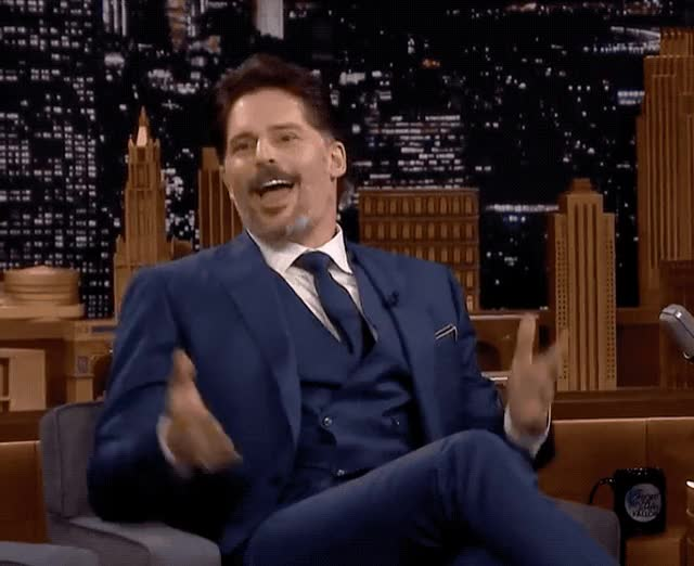 Watch this joe manganiello GIF by GIF Queen (@ioanna) on Gfycat. Discover more celebrate, celebrating, excited, fallon, happy, jimmy, joe, manganiello, show, sofia, success, tonight, vergara, victory, win, winner, woohoo, yay, yeah, yes GIFs on Gfycat