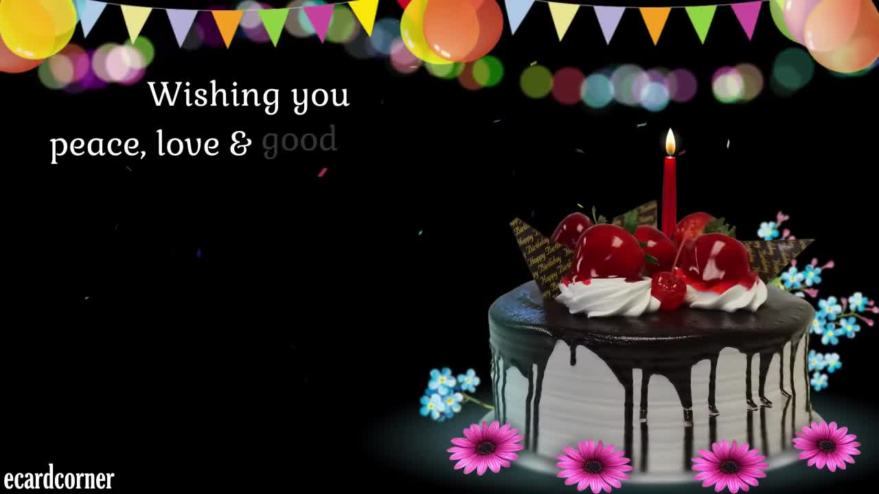 Best Wishes For A Happy Birthday Message Ecard Greetings SMS GIF