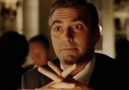 flirt, george clooney, gif brewery, love, Flirty George Clooney GIFs