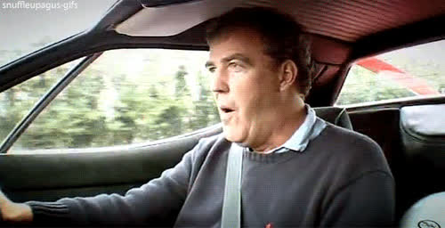jeremy clarkson, Passing the open speed limit sign. God bless the German autobahn! GIFs