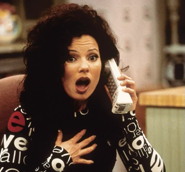 Watch and share Fran Drescher GIFs on Gfycat