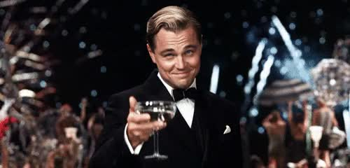 Watch and share Leonardo Dicaprio GIFs and Glassesup GIFs by Reactions on Gfycat