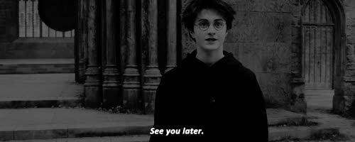 ''See you later.'' | gif, harry potter and hp GIFs