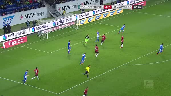 Watch and share Baumann's Sloppy Throw Ends Up In A Goal GIFs by anasie10 on Gfycat
