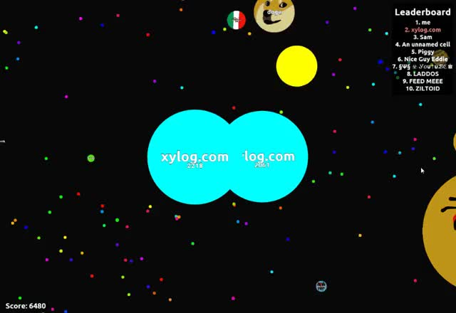 Watch and share Agario GIFs and Xylog GIFs by xylog on Gfycat