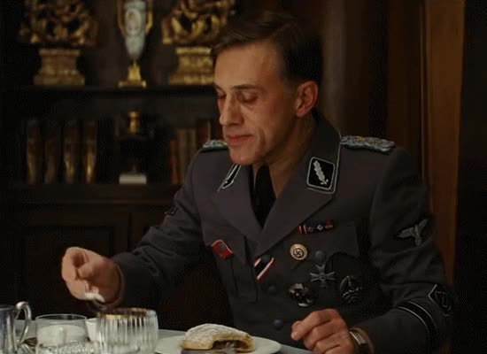 Watch and share Christoph Waltz GIFs and Strudel GIFs on Gfycat