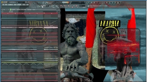 aesthetic, fl studio, frankjavcee, gif, music, nirvana, ocean grunge, how to make ocean grunge by frankjavcee GIFs