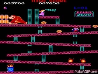 Watch Donkey Kong (Original) Full Playthrough (JP Arcade Version) GIF on Gfycat. Discover more related GIFs on Gfycat