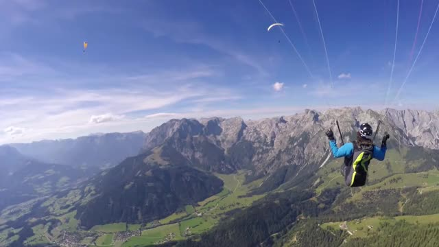 Watch and share Paragliding GIFs and Follow Cam GIFs on Gfycat
