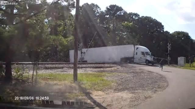 Watch and share Train Crash GIFs and Dash Cam GIFs by drunkestdrunk on Gfycat