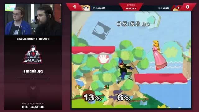 Mang0 vs Armada - Melee Singles: Pool B - Smash Summit 6