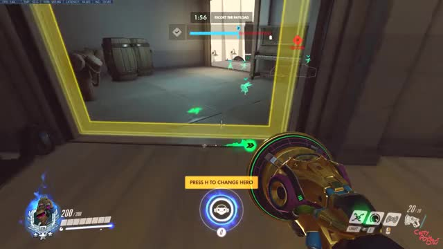 Watch Hollywood GIF by CarryPotterOW (@carrypotterow) on Gfycat. Discover more Carry, Hollywood, Lucio, Lucio Rollout, Rollout, overwatch GIFs on Gfycat