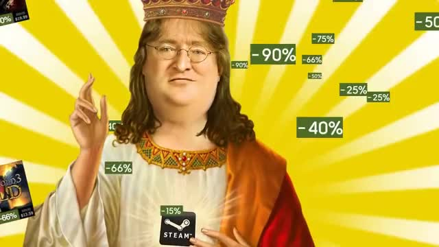 Watch and share Gabe Newell GIFs and Summer GIFs by Acme on Gfycat