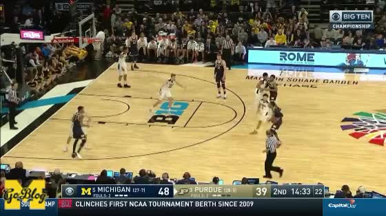 Watch and share Moritz Wagner GIFs and John Beilein GIFs by MGoBlog on Gfycat