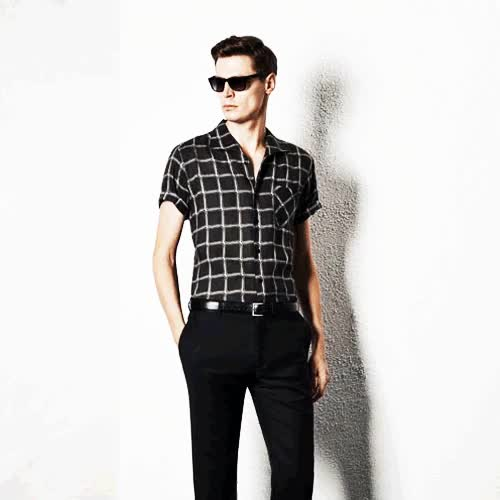 Watch and share Short Sleeve Shirt GIFs and Mens Summer Style GIFs on Gfycat