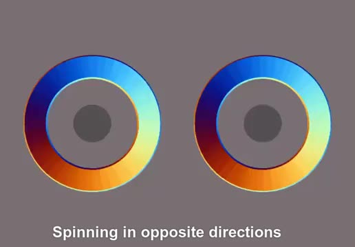 Watch and share Same Circles Spinning Opposite Directions GIFs by Mahmoud M. Mahdali on Gfycat