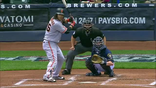 Watch and share Brandon Crawford GIFs and Sf Giants GIFs by John on Gfycat