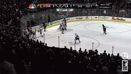 Watch and share Blackhawks Kings Game 4 GIFs on Gfycat