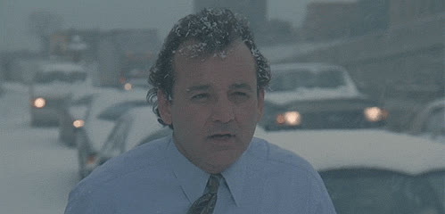 bill murray, brr, brrr, cold, freeze, freezing, cold GIFs