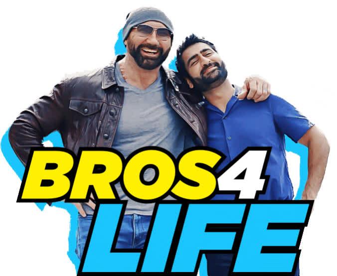 best friend, bff, bro, bros 4 life, dave bautista, friend, hey bro, kumail nanjiani, stuber, stuber movie, Stuber Movie Bros 4 Life GIFs