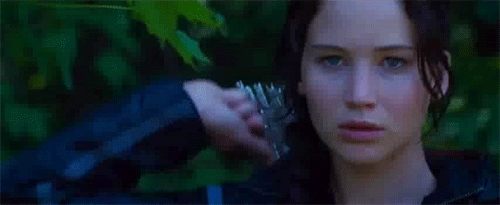 bow and arrow, hunger games, the hunger games, the hunger games hunger games GIFs