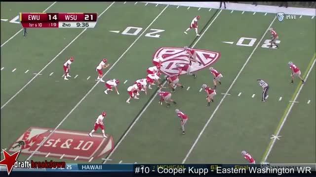 Watch and share Cooper Kupp (EWU WR) Vs Washington State 2016 GIFs on Gfycat