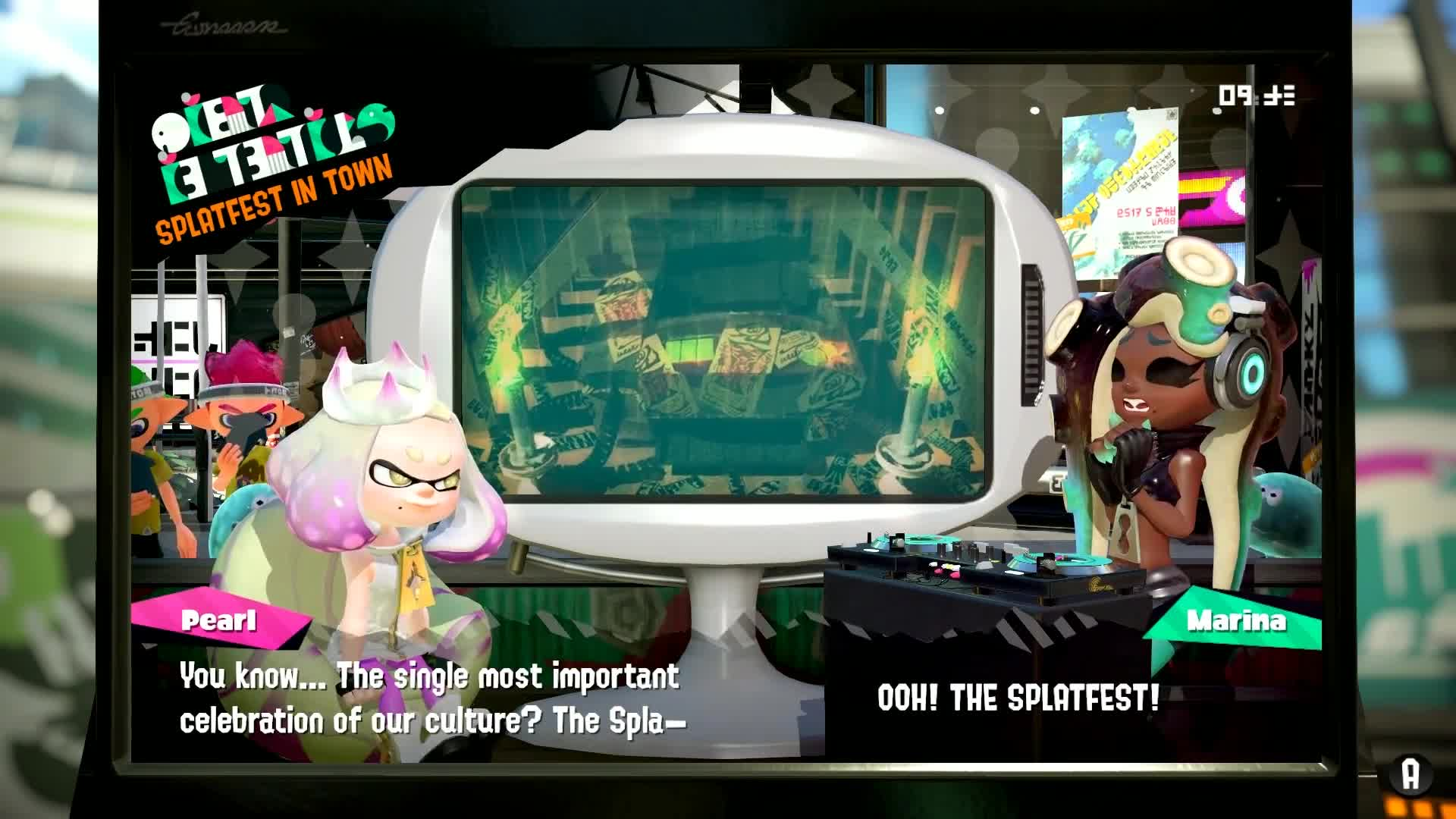 amiibo, amiibo jason, amiibo news, amiibo newscast, happily candied, marina, marina and pearl, pearl, splatoon, splatoon 2, Splatoon 2 | All Marina and Pearl Clips From the Splatfest Demo GIFs