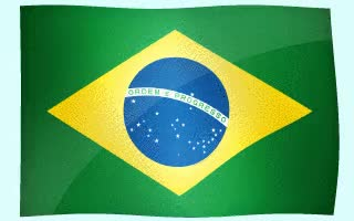 Watch and share White Background Brazil Flags. GIFs on Gfycat