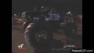 Watch WWF Stone Cold Steve Austin Destroys The Rock's Car GIF on Gfycat. Discover more related GIFs on Gfycat
