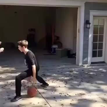 Watch and share KID BREAKS GRANDMA'S ANKLES GIFs on Gfycat