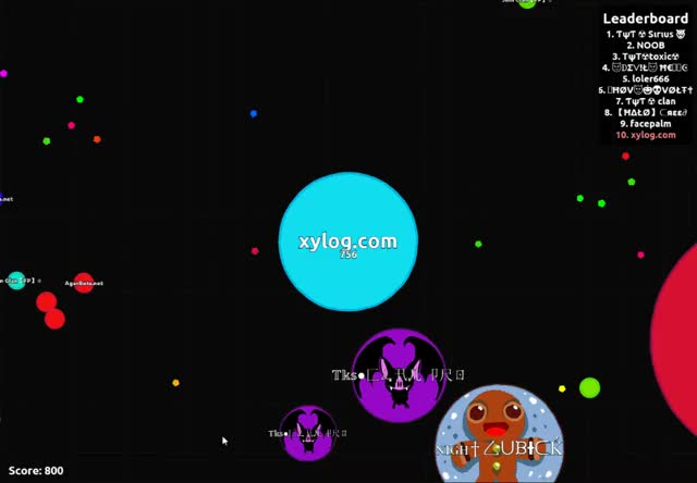 Watch and share Agario GIFs by xylog on Gfycat