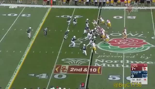 Watch and share Sam Darnold Vs Penn State 2016 GIFs on Gfycat