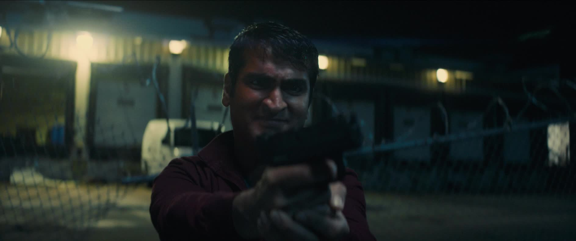 dave bautista, fight, fighting, gun, kumail nanjiani, stuber, stuber movie, Broken Gun Knock Out GIFs